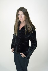 Biker Jacket in Black Sheared Mink