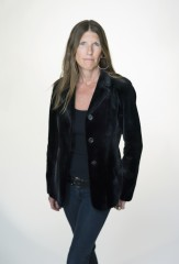 The Blue Velvet Blazer in Midnight Sheared Mink