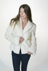 The Snowbunny in White Mink