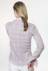 Plaid Range Shirt in Dusty Lilac, Ballet & Chalk