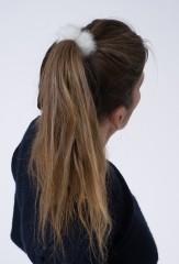 MINK HAIR TIE IN ROVALIA
